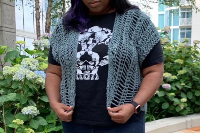 Crochet Sable Vest