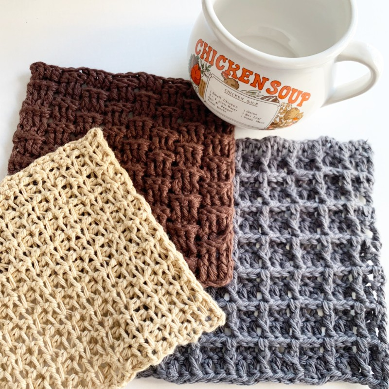 Sack of Dishcloths Pattern Sampler