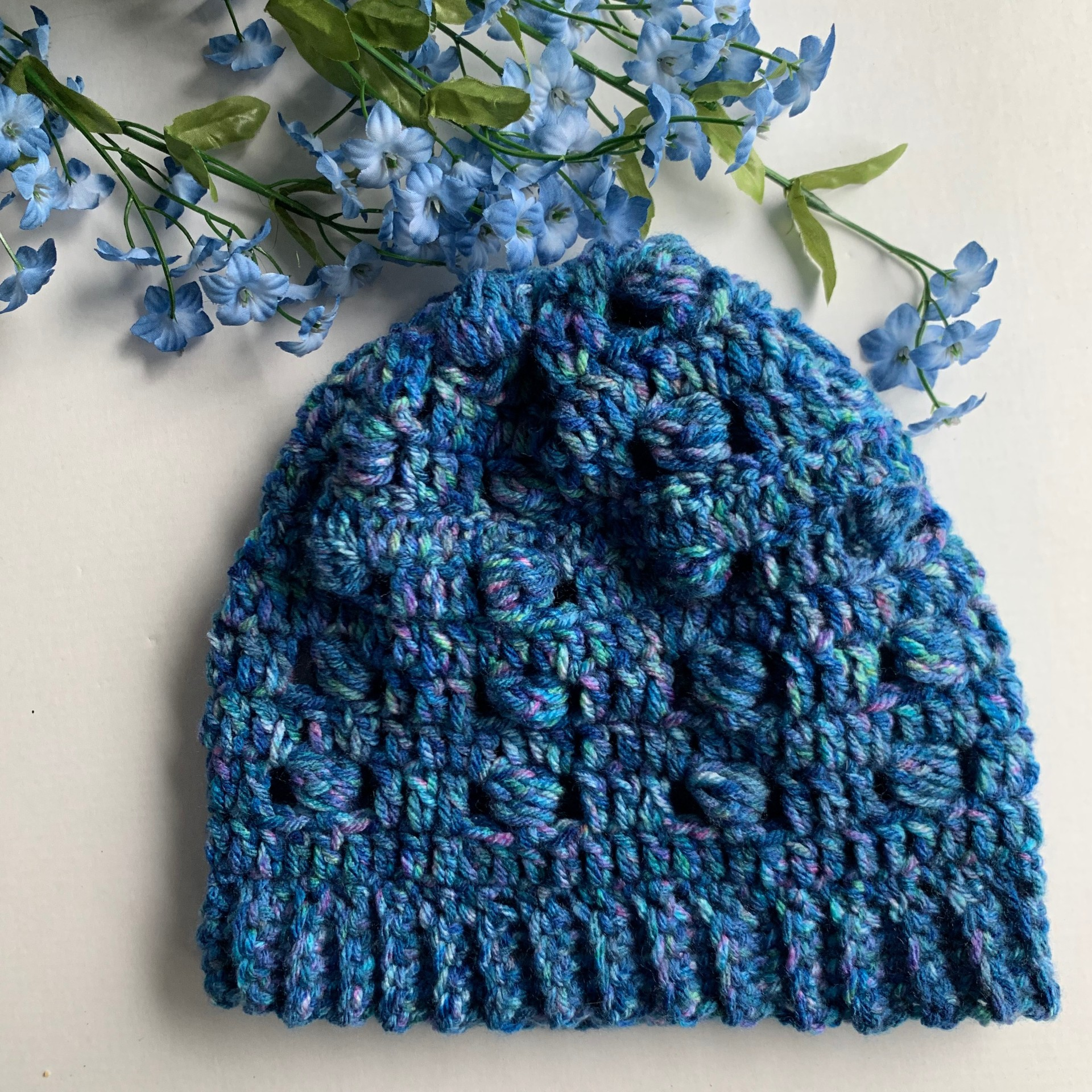 Bobbles and Blue Beanie for #HATNOTHATE